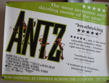 Antz, Original DS Advance UK Quad Poster, '98